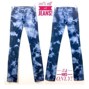 J. Brand Low Rise Out Of Control Skinny Jean